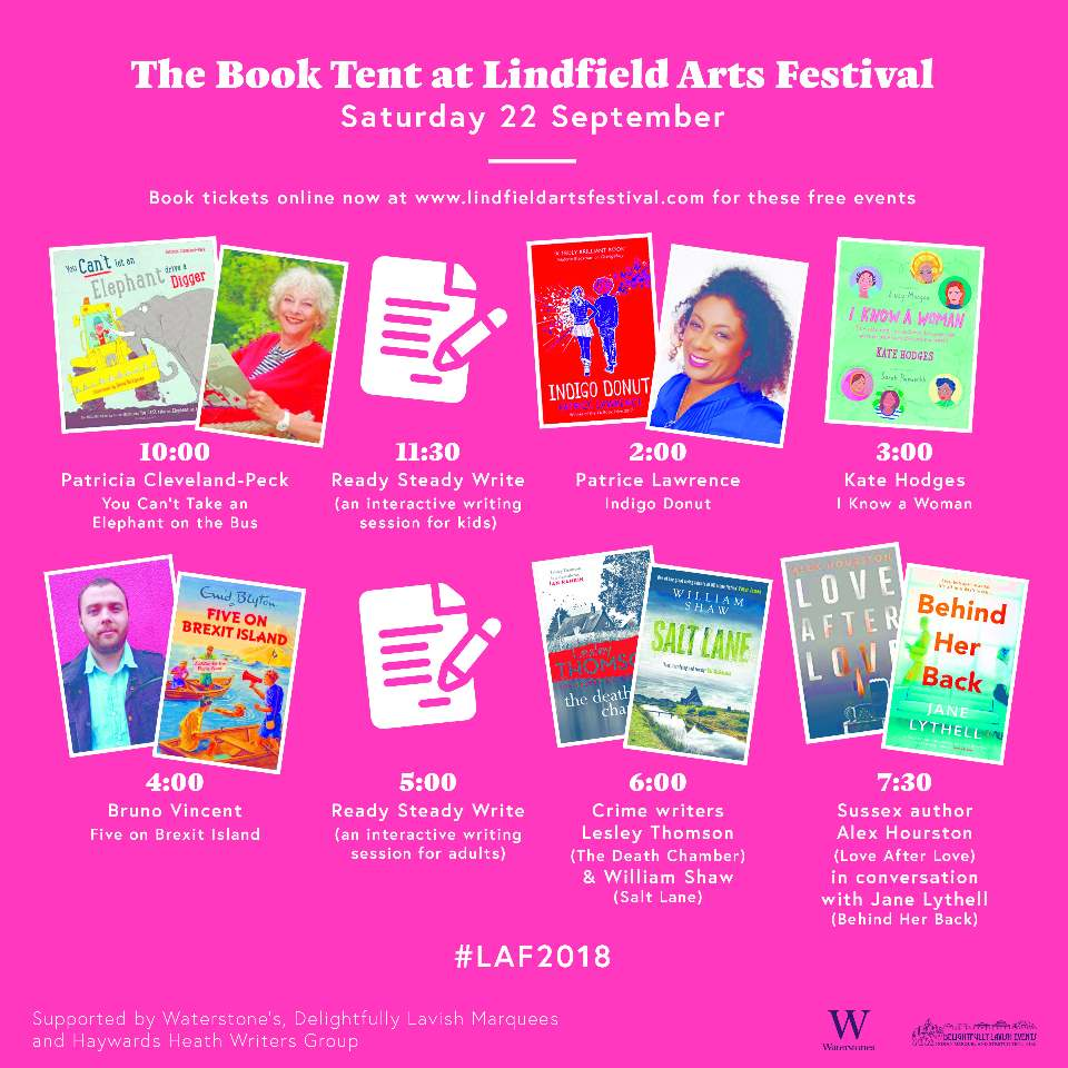 Lindfield Arts Festival Book Tetn Events!
